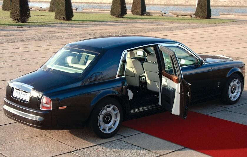 RollsRoyce special doors carat