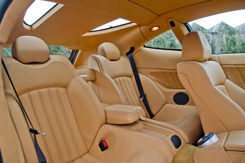 Ferrari 612 Scaglietti interior beige