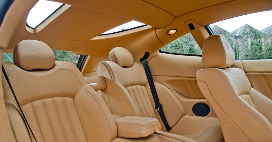 Ferrari 612 Scaglietti interior carat