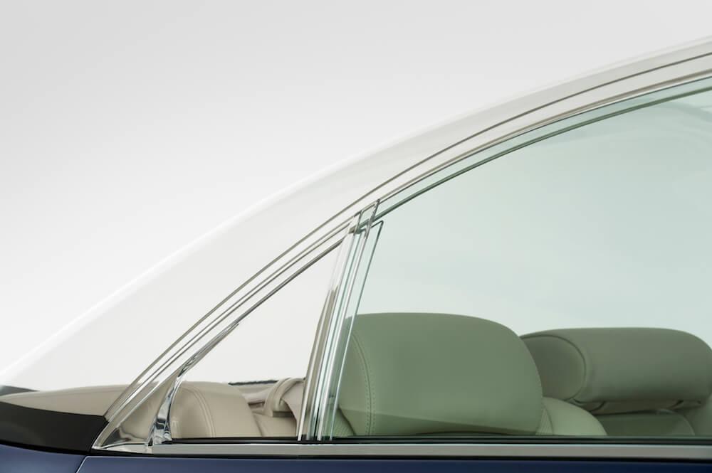 Lexus 600 transparent roof monaco wedding