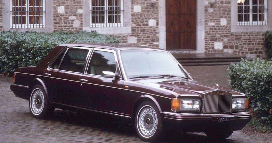 Rolls Silver Seraph old model