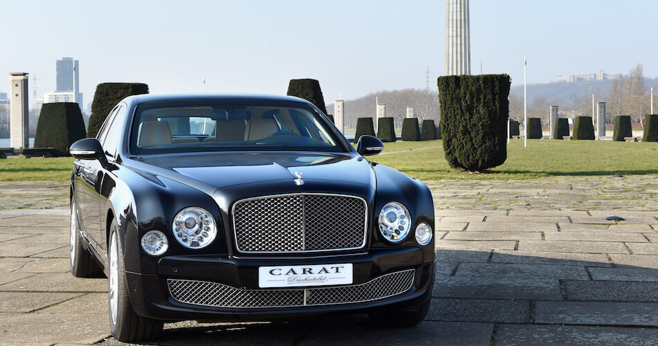 Bentley Mulsanne Carat bespoke black exclusive
