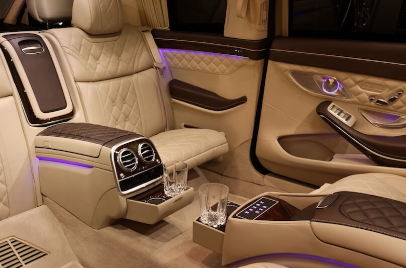 Carat Mercedes-Maybach interior bespoke