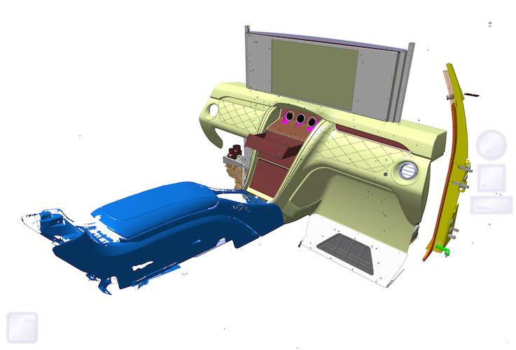 schema interior carat